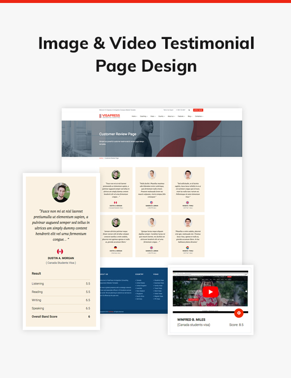 VisaHub - Immigration Consulting WordPress Theme