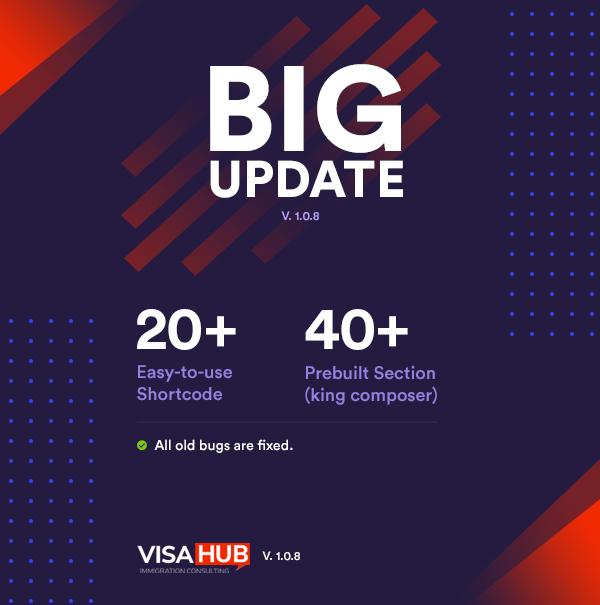 VisaHub - Immigration Consulting WordPress Theme - 1